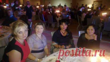 Гала ужин в Москве с дружной командой успешных людей