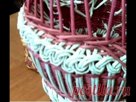 мк напольной вазы с накладным ажуром часть 3