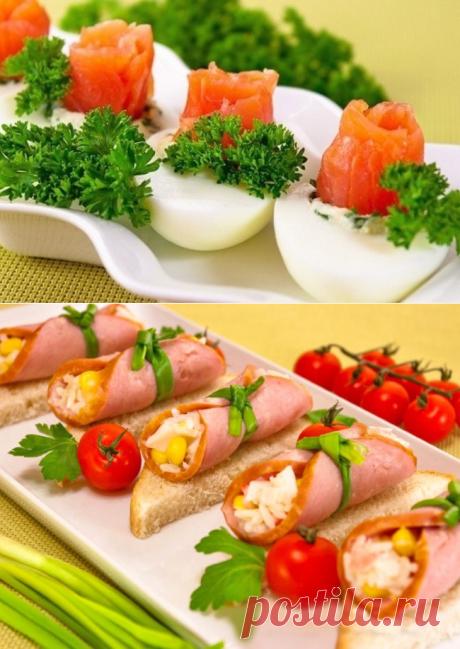 7 вариантов праздничных блюд Праздничные закуски на скорую руку, которые хочется съесть уже сейчас. Сохраняй, скоро пригодится! | Эксклюзивные шедевры кулинарии.