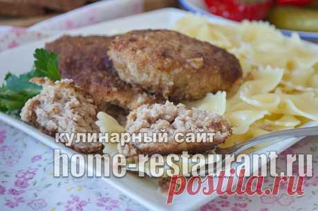 Котлеты из говяжьего фарша - restaurant.ru