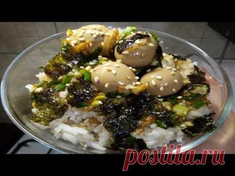 Маринованные яйца по - Корейски.  Делайте сразу много яиц. Это съедается мгновенно.