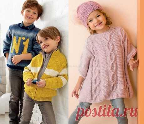 Модели спицами для детей на осень от двух лет и старше | Ирина СНежная & Вязание | Яндекс Дзен