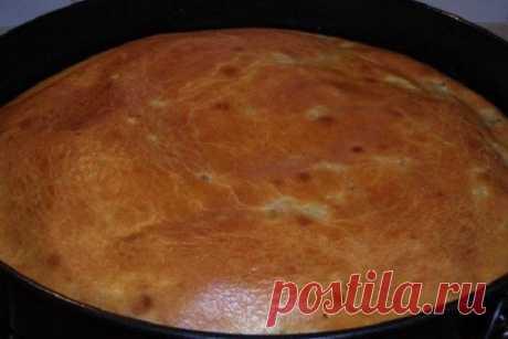Пирог, который можно печь хоть каждый день. Сметана, пара яиц, мука — и пышная выпечка готова! | Краше Всех