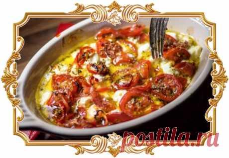 Буюрди (рецепт на скорую руку)  Буюрди — традиционная греческая горячая закуска из сыра Фета,запеченная с сочными помидорами и ароматным орегано.  Название звучит не очень по-гречески, но тем не менее, закуска давно и прочно обосновалась в греческой гастрономии. Показать полностью…