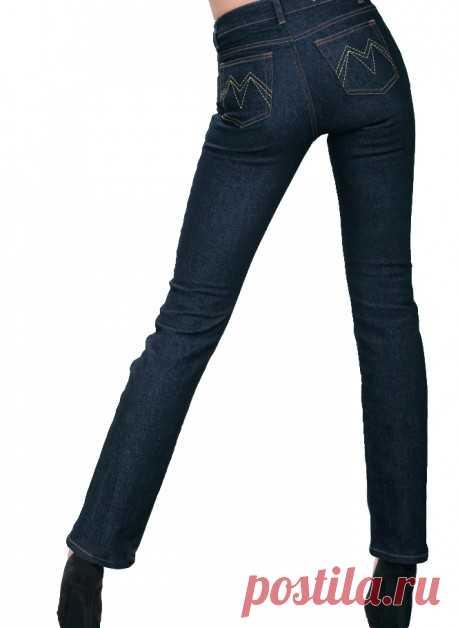 Стильные женские джинсы Montana 10722 | PlanetJeans.ru