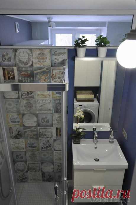 Как отремонтировать ванную в хрущевке: реальный пример со сметой | Тысяча и одна идея