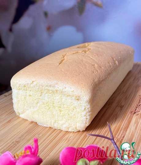 """Тайваньский бисквит """"Кастелла"""" – кулинарный рецепт"""