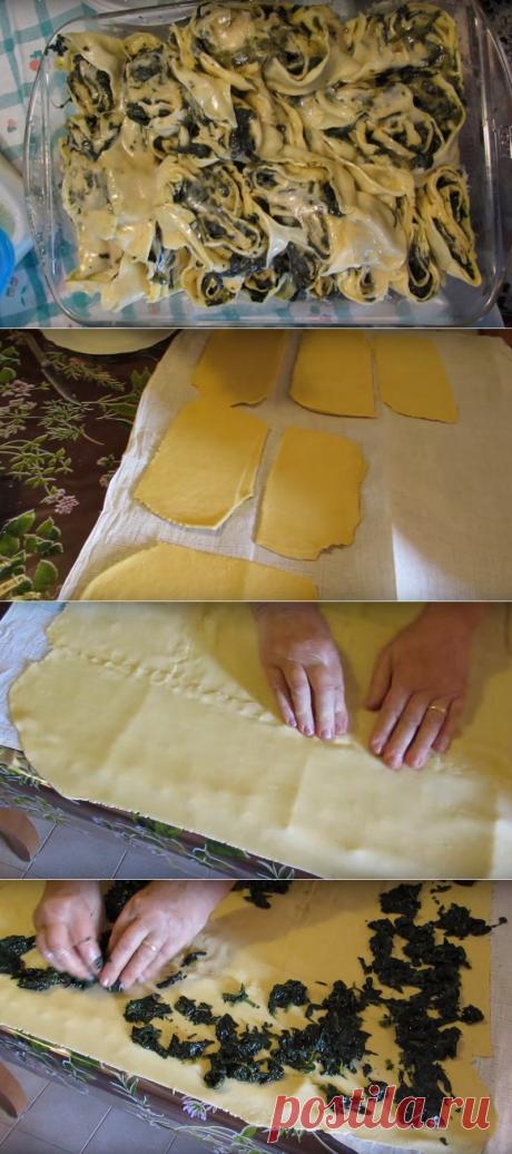 Итальянская свекровь научила готовить редкое, но очень вкусное блюдо — Salame di verdura!