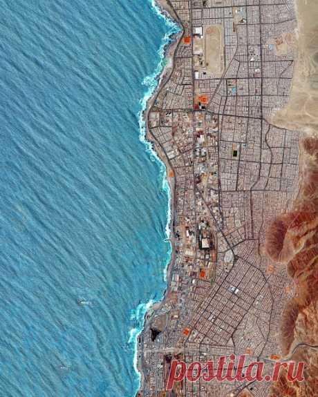 Вид на 27 городов мира с высоты птичьего полета - InVkus