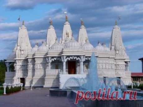 Кружева архитектуры.Храм Шри Сваминараян Мандир