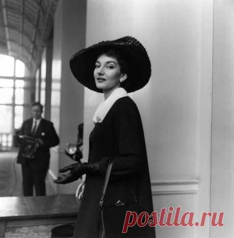 +Maria Callas | © Pleasurephoto