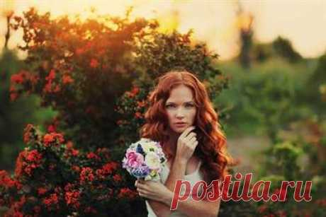 Свадебные прически на рыжие волосы