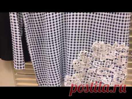 Простые идеи украшения старых  блузок, свитеров