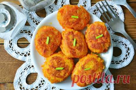 Морковные котлеты с манкой | Быстрые и простые рецепты | Яндекс Дзен