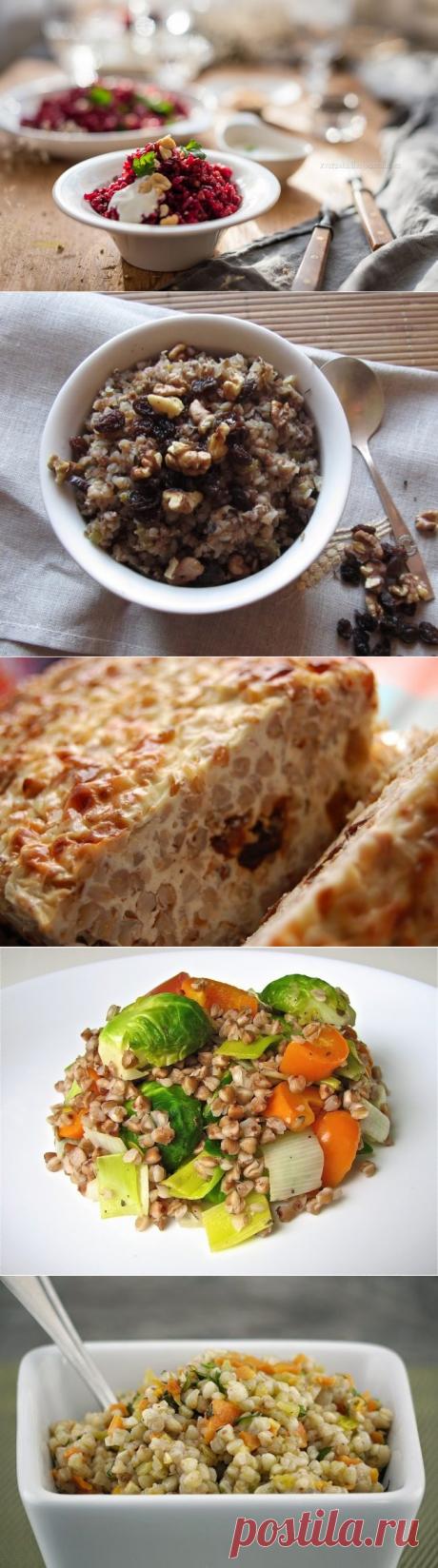 5 оригинальных рецептов с гречкой