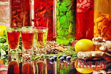 Домашние настойки на спирту - лучшие рецепты