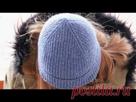 САМАЯ КРАСИВАЯ МАКУШКА ШАПКИ | Макушка шапки резинкой | Мастер-класс