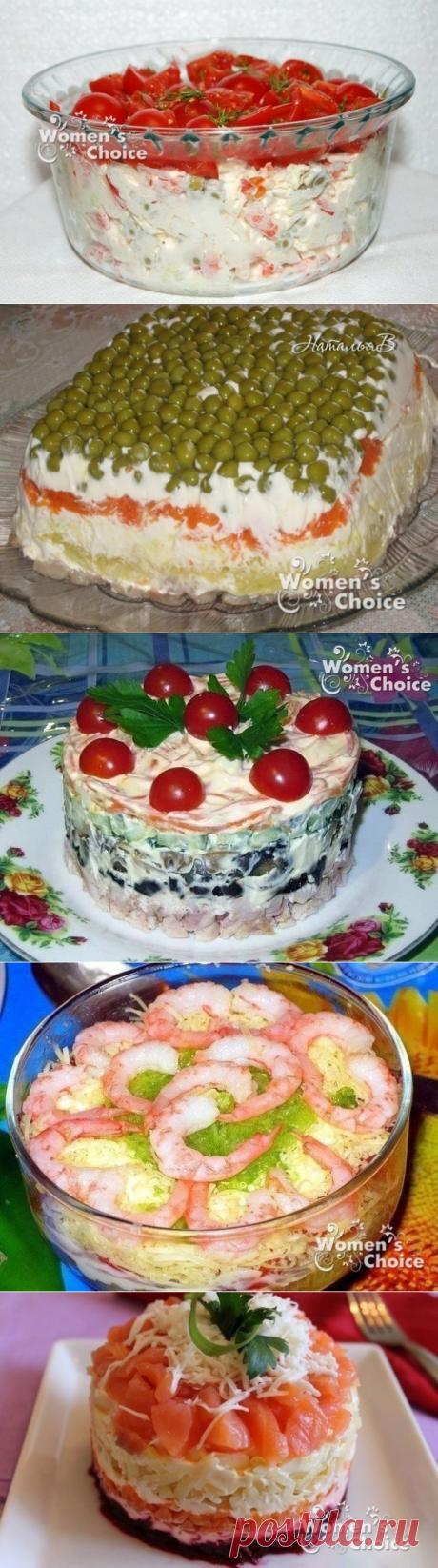 10 вкуснейших салатов!