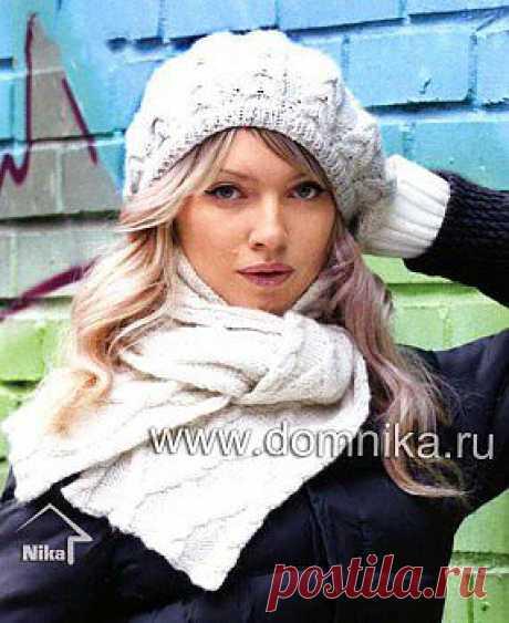модные зимние шапки » Вязание крючком и спицами схемы и модели