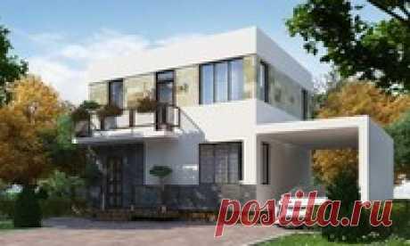 Проекты домов до 100 м и проекты коттеджей до 100 м | DOM4M.RU