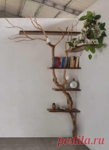 #дерево_интерьер_идея