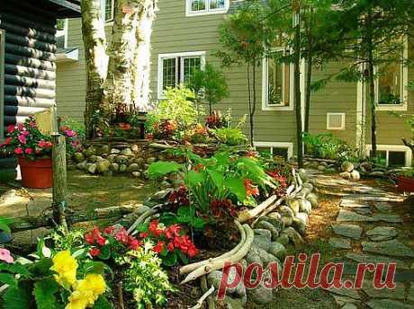 Планировка участка. Проект любого участка разрабатывается исходя из потребностей  использования будущего сада. Лучше всего спланировать сад сначала на бумаге.Существует много стилей оформления садов.