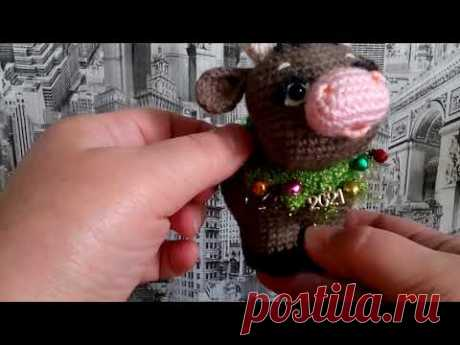 Бычок. сувенир-игрушка, символ 2021 года