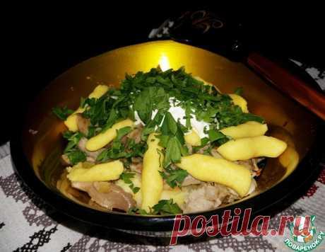Ленивые вареники из картошки с грибами – кулинарный рецепт