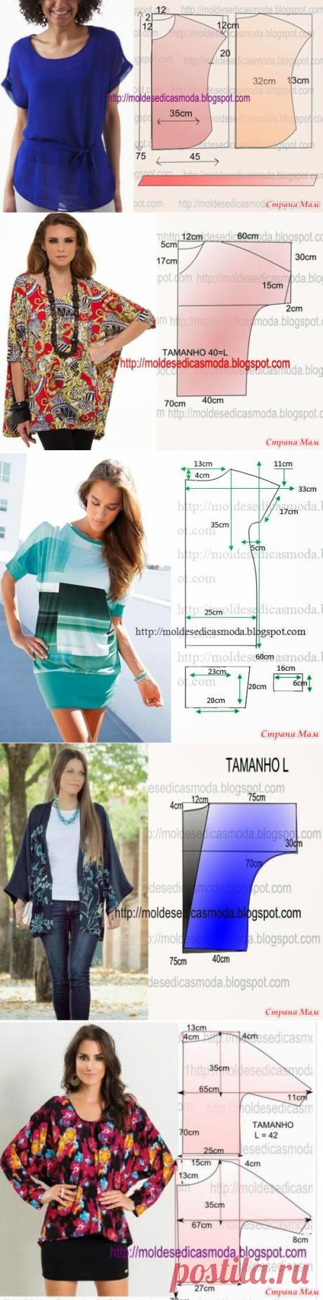 Интересные модели и простые выкройки - 3 - Из ученицы - в профессионалы шитья. - Страна Мам