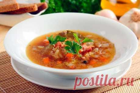 Щи из кислой капусты с мясом – пошаговый рецепт с фото.