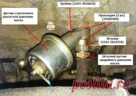 Как проверить датчик давления масла: электронный и механический, а также принцип их работы