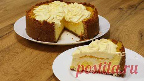 Лимонный чизкейк. Безумно вкусный десерт. | Кулинарный канал ТЕСТО. | Яндекс Дзен