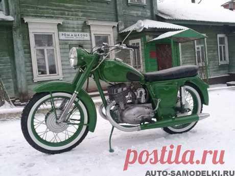 Восстановление мотоцикла Иж-56 | Авто гараж Полностью восстановленный мотоцикл Иж-56, 1961-го года выпуска, фото и описание советского мотоцикла.