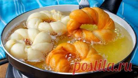 Любимый завтрак детей - пышные пончики, щедро присыпанные сахаром. Вкуснотища!| Cookrate - Русский