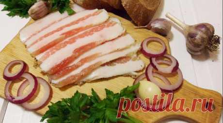 Сало соленое в тузлуке Наше домашнее, пошаговый рецепт с фото