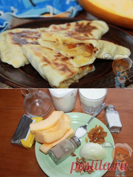 Чуду с тыквой и орехами на сковороде — дагестанский рецепт с фото