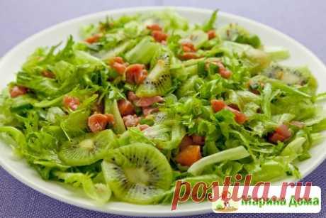 Салат из семги с киви » Вкусные рецепты у Марины дома