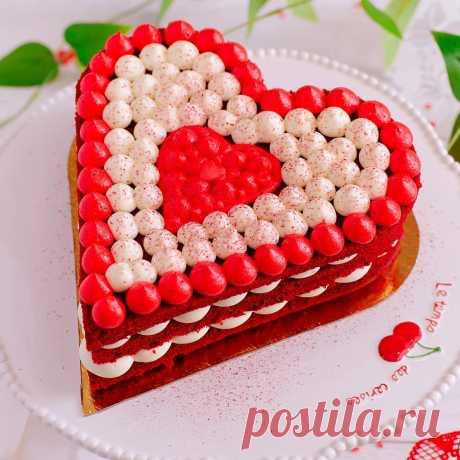 Торт Красный Бархат - пошаговый рецепт с фото на Готовим дома