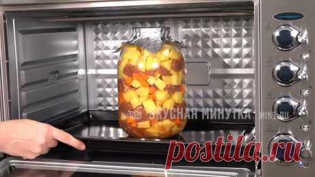 Блюдо, которое я всегда готовлю на Пасху: тушеный картофель с мясом в банке