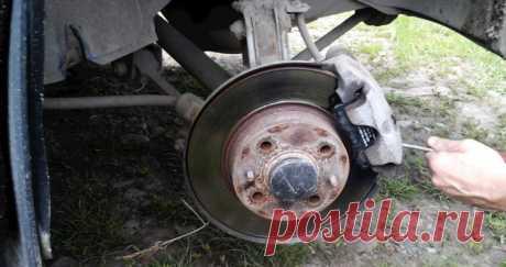 Как узнать, что износились тормозные колодки без снятия колес | The Robot
