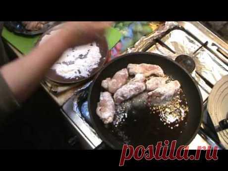 """Ruletiki de la Carne de cerdo De fiesta (""""Пальчики""""). Que Daremos de comer a los Invitados... - YouTube"""