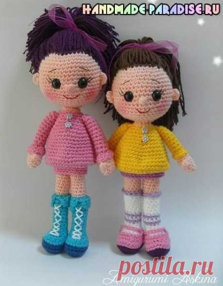 Амигуруми куколка Candy Doll крючком.