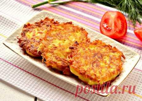 Як приготувати Картопляні оладки. Хрусткі та неймовірно смачні