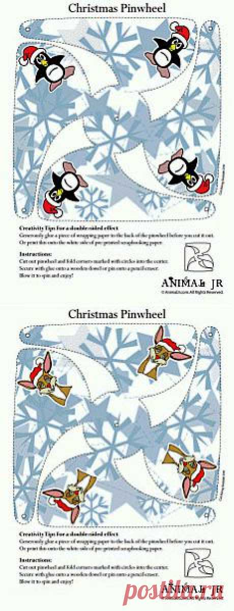 Новогоднее.Вертушки и карточки-бирки..