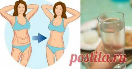 Водная диета — 7 кг за 10 дней. И на ночь можно есть!
