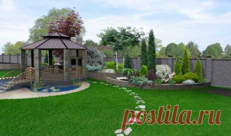 Украсим сад оригинально: свежие идеи от дизайнеров | Азбука огородника | Яндекс Дзен