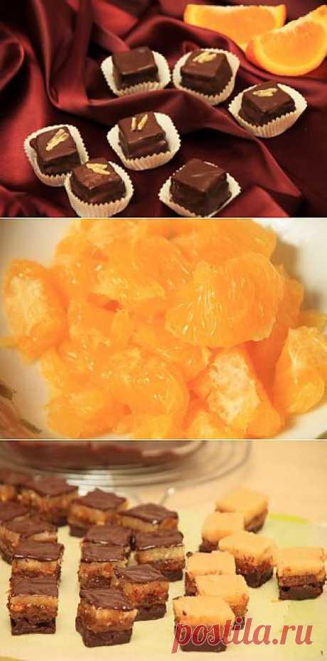 Апельсиновые конфеты - рецепт с фотографиями