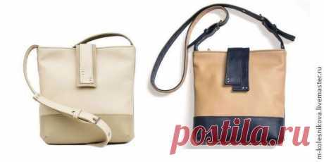 Шьём небольшую сумочку Предлагаю вам описание пошива небольшой сумочки с длинным ремешком. Думаю, начинающим пригодится. В пошиве использован кожзам. Его можно заменить на плотную ткань, для совсем-совсем начинающих шить из...