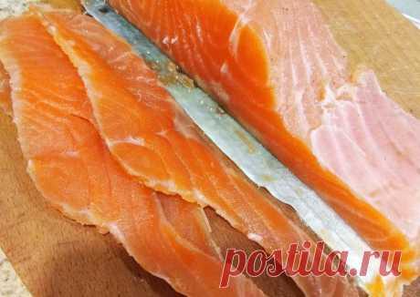 Солим рыбку - пошаговый рецепт с фото. Автор рецепта Алина Диденко 🏃♂️ . - Cookpad