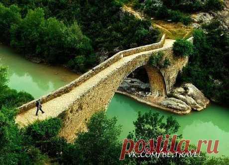 Мост через реку, Кастилия, Испания